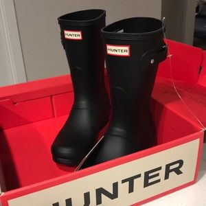 NEW Hunter Boots Size 8 Black